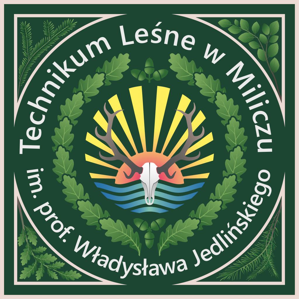 awers sztandaru  logo szkoły